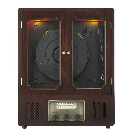 木製レコードプレーヤー