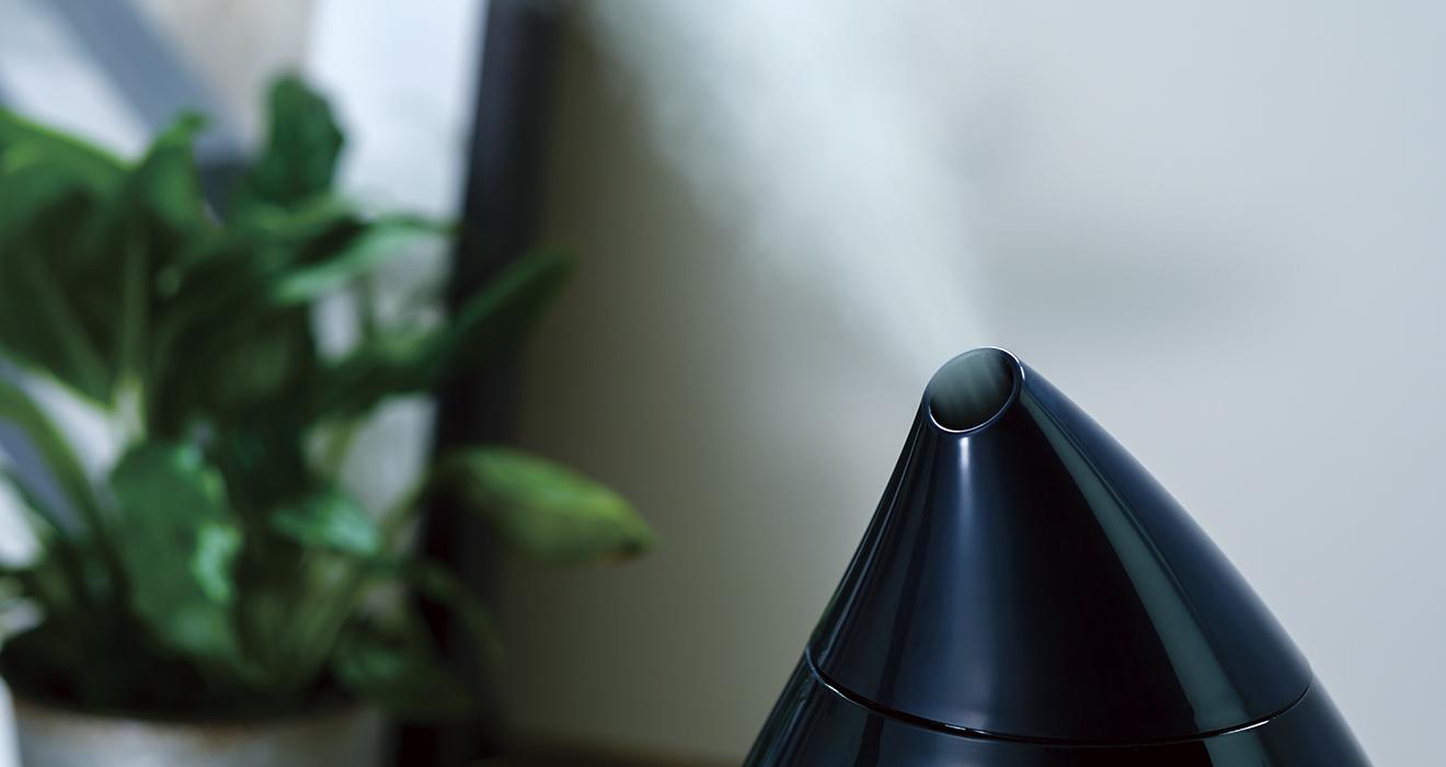 超音波式アロマ加湿器