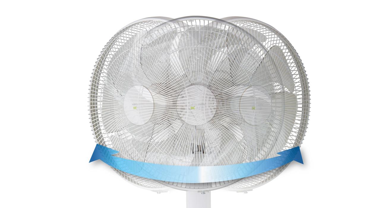 DCフロアー扇風機