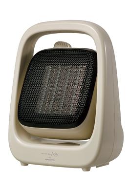小さな空間はもちろん、テレワークにも便利、小型だけどしっかり温かいコンパクトアングルヒーター「APH-280」を新発売